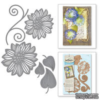 Нож для вырубки от Spellbinders - Victorian Garden Romantic Blooms Two