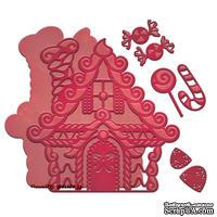 Ножи от Spellbinders – Gingerbread House - Имбирный пряничный домик