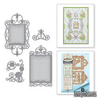 Нож для вырубки от Spellbinders - Stacey Caron - Botanical Bliss - Twisted Floral Tags