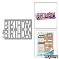 Ножи от Spellbinders - Happy Birthday Easel