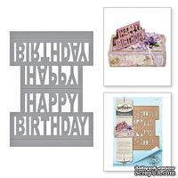Ножи от Spellbinders - Happy Birthday Pop-Up