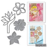 Ножи от Spellbinders - Tropical Florals - Тропические цветы