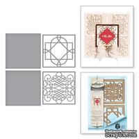 Ножи от Spellbinders - Calligraphy Flourish Tiles