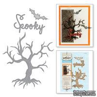 Ножи от Spellbinders - Spooky Tree