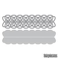 Ножи для вырубки от Spellbinders - Shapeabilities Infinity Link Border Etched Wafer Thin Dies Metal