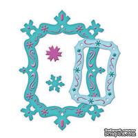 Набор лезвий от Spellbinders - Snowflake Frame