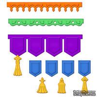 Лезвия от Spellbinders - Banner Basics Three, 8 шт