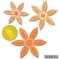 Лезвия от Spellbinders - Daisy Flower Topper, 4 шт