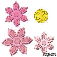 Лезвия от Spellbinders - Anemone Flower Topper, 4 шт.