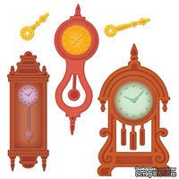 Набор лезвий Spellbinders  - Retro Mod Clocks