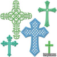 Лезвия от Spellbinders - Crosses Two, 5 шт