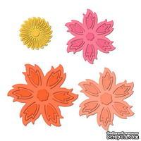 Лезвия от Spellbinders - Aster Flower Topper, 4 шт