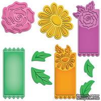 Ножи Floral Tags от Spellbinders