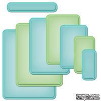 Лезвия Spellbinders - Curved Matting Basics A, 8 шт.