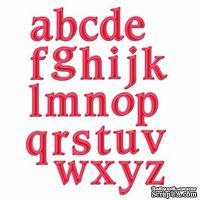 Ножи от Spellbinders -Font One - Lowercase