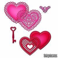 Ножи от Spellbinders - Lace Hearts