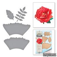 Нож для создания объемных цветов от Spellbinders - Ruffled Flowers