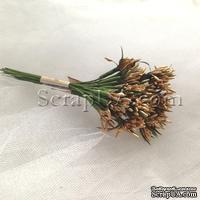 Веточки-тычинки, цвет золото, пучок из 12 штук
