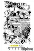Штамп : Libellules et Papillons-Carabelle Studio -  Бабочки и стрекозы