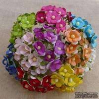 Набор цветочков  Sweetheart, микс цветов, 100 шт.