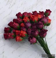 Бутоны розот Thailand - Красные тона, 10 шт