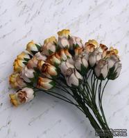 Розы с закрытым бутоном от Thailand - цвет кремовый, 10шт