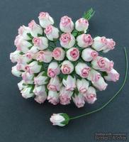 Буточники розы, цвет розовый, диаметр - 8-10мм, 5 шт.