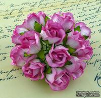 Бутоны большие дикой розы, цвет нежно-розовый, размер бутона 2 см, 1шт.