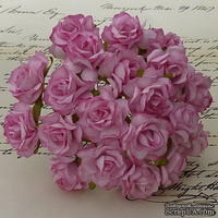 Дикая роза, цвет розовый, диаметр - 30мм, 1 шт.