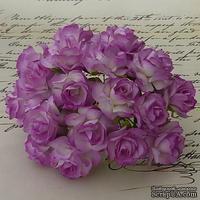 Дикая роза, цвет фиолетовый, диаметр - 30мм, 1 шт.