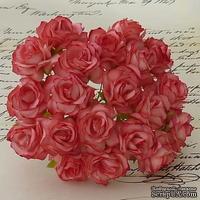 Цветы дикой розы - STRAWBERRY RED, 30 мм, 1 шт.