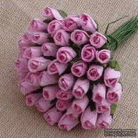 Буточники розы, цвет нежно-розовый, диаметр - 4мм, 10 шт.