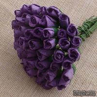 Буточники розы, цвет пурпурный, диаметр - 4мм, 10 шт.