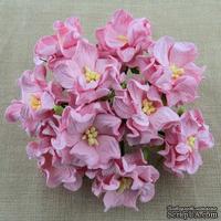 Гардения, цвет нежно-розовый, 3,5см, 1 шт.