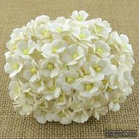 Цветочки  Sweetheart, цвет белый, 15мм, 100 шт.
