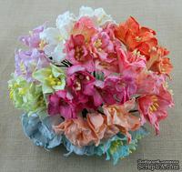 Набор лилий, микс цветов, 30мм, 10 шт.
