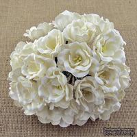Цветы - Магнолия, белая, 35мм, 1 шт.