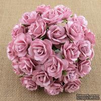 Дикая роза, цвет розовый, 3 см., 1 шт