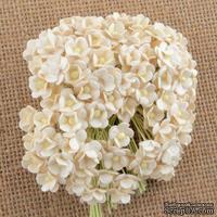 Цветочки  Sweetheart, слоновая кость, 10мм, 10 шт.