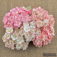 Цветы  от Thailand - Sweetheart, цвет нежно-розовый, 1,5 см, 100 шт.