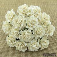 Розы от Thailand, цвет айвори, 30 мм, 1 шт.