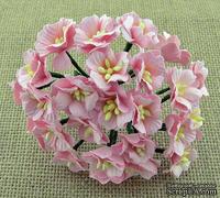 Цветы яблони от Thailand, розовый, 20 - 25 мм, 5 шт
