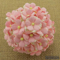 Цветочки любви - sweetheart, цвет светлый розовый, диаметр - 15мм, 10 шт.
