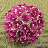 Цветочки любви - sweetheart, цвет розовый, диаметр - 15мм, 10 шт.