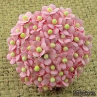 Цветочки Sweetheart, детский розовый, 10мм, 10 шт.