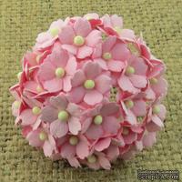Цветочки  Sweetheart, цвет розовый, 15мм, 10 шт. - ScrapUA.com