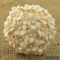 Цветочки  Sweetheart, нежно-персиковый, 15мм, 10 шт.