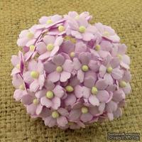 Цветочки любви - sweetheart, цвет сиреневый, диаметр - 15мм, 10 шт.
