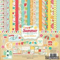 Набор бумаги для скрапбукинга от Echo Park - Summer Bliss, 30х30 см