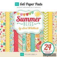 Набор бумаги для скрапбукинга от Echo Park - Summer Bliss, 15х15см